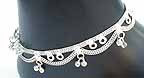 Silver Anklets for Women K
