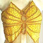Belly Dance Gypsy Top Yellow A