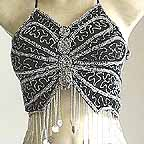 Belly Dancing Bra Top Black AS