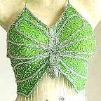 Belly Dance Gypsy Top Green A