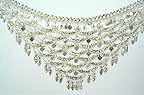 Waist Chain Belly Dancing Silver Belly Chain Coin Belt CE