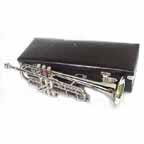 New Silver Bb Deluxe Trumpet with Mouthpiece and Hardcase