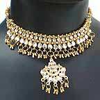 Wedding Necklace with Earrings set 1Q